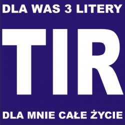 Koszulka z nadrukiem TIR