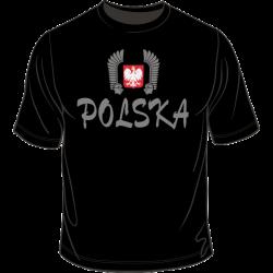 Polska z godłem i husarią