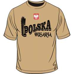 Polska husaria z godłem