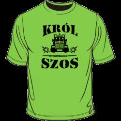 Koszulka dla kierowcy ciężarówki - król szos
