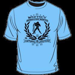 Koszulka ze znakiem zodiaku Wodnik