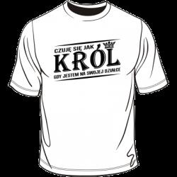 Koszulka Król Działki