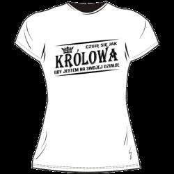Koszulka królowa działki