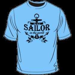 Koszulka the best sailor