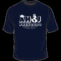 Koszulka ahoj przygodo żeglarska