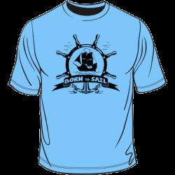 Koszulka żeglarska born to sail