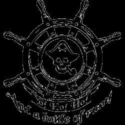 Koszulka dla marynarzy z motywem pirackim