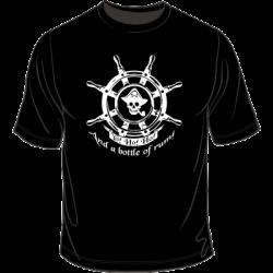 Koszulka z motywem pirackim