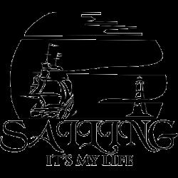 Koszulka dla żeglarzy sailing it is my life
