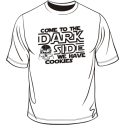 Koszulka come to the dark side we have cookies