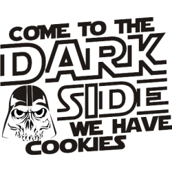 Koszulka come to the dark side we have cookies