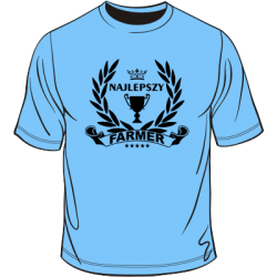 Koszulka najlepszy farmer
