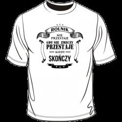 Koszulka z motywem dla rolnika
