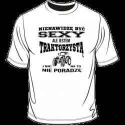 Koszulka dla traktorzysty - sexy