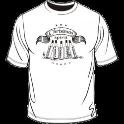 Koszulka na święta Christmas spirit