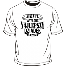 Koszulka tak wygąda najlepszy dziadek