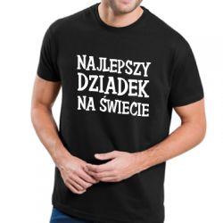 Koszulka najlepszy dziadek na świecie