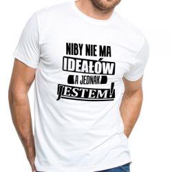 Koszulka niby nie ma ideałów