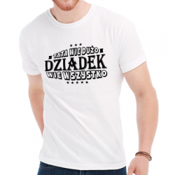 Koszulka dziadek wie wszystko