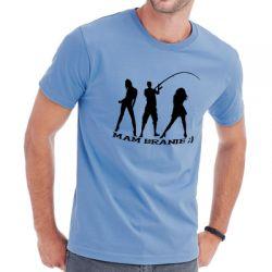 Koszulka z wędkarzem mam branie