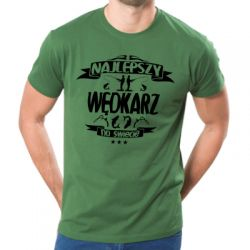 Koszulka najlepszy wędkarz na świecie