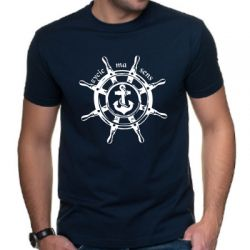 Koszulka z motywem żeglarskim