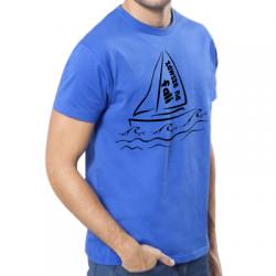 Koszulka dla żeglarzy zawsze na fali