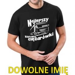 Koszulka najlepszy kierowca ciężarówki