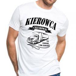 Koszulka z nadrukiem dla kierowcy ciężarówki