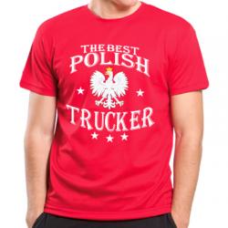 Koszulka najlepszy polski kierowca ciężarówki