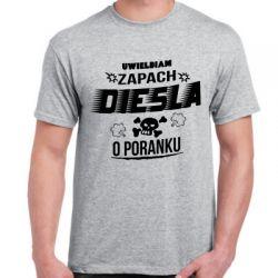 Koszulka dla kierowcy diesla - zapach diesla