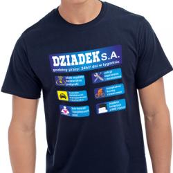 Koszulka z nadrukiem Dziadek SA
