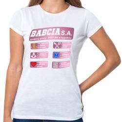 Koszulka Babcia SA Firma