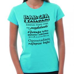 Koszulka dla babci z zasadami