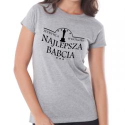 Koszulka dla babci zdobywczyni