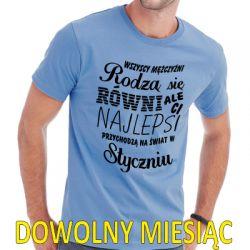 Koszulka wszyscy mężczyźni rodzą się równi