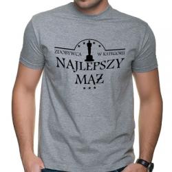 Koszulka ze statuetką dla męża