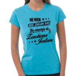 Koszulka zarobiona jestem