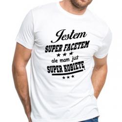 Koszulka jestem super facetem