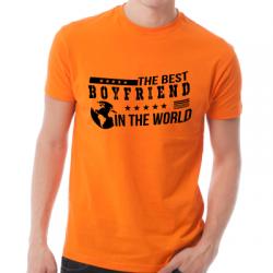Koszulka dla faceta z nadrukiem Best Boyfriend