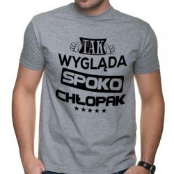Koszulka tak wygląda Spoko Chłopak