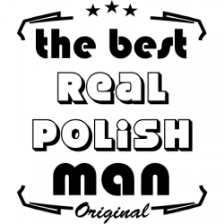 Koszulka best real polish man
