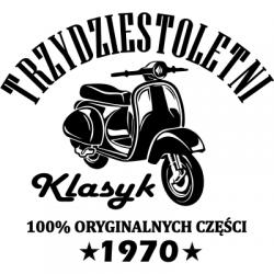 Koszulka na urodziny klasyk skuter